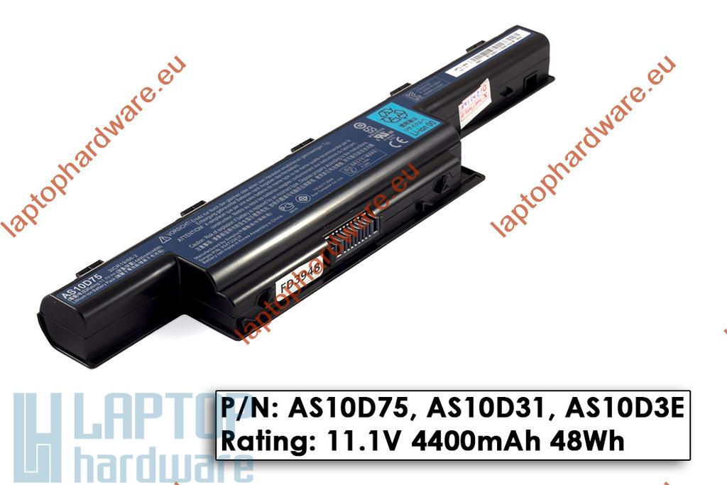 Acer Aspire 5736, 5741, 5742 Packard Bell TK, TM használt 75%-os, 6 cellás laptop akku/akkumulátor (AS10D31)