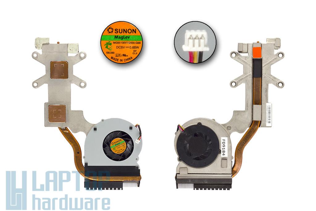 Acer Aspire 5737Z laptophoz használt komplett hűtő ventilátor (MG55100V1Q000-G99)