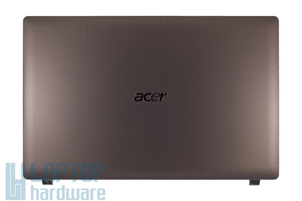 Acer Aspire 5742 laptophoz gyári új barna LCD hátlap, brown LCD back cover, AP0FO000120