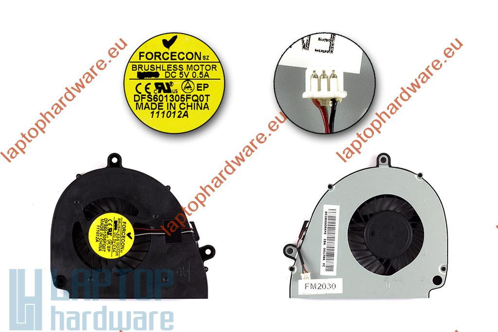 Acer Aspire 5750, 5755, E1-571, V3-571 használt laptop hűtő ventilátor, DFS601305FQ0T