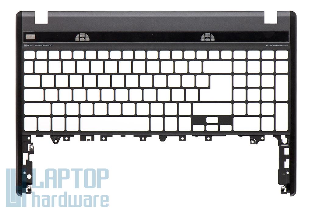 Acer Aspire 5755, 5755G gyári új szürke-fekete laptop felső fedél, billentyűzet keret (60.RPV02.001)