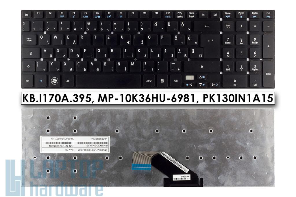 Acer Aspire 5755G, V3-551, V3-771 használt magyar laptop billentyűzet (KB.I170A.395, MP-10K36HU-6981)