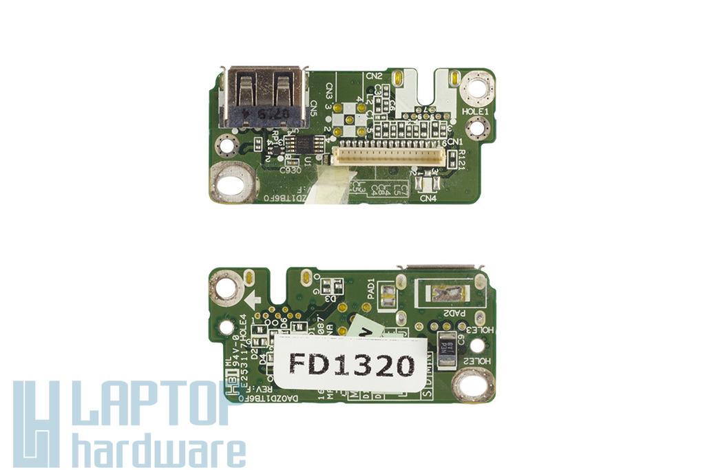 Acer Aspire 5920G laptophoz használt USB panel, (DAZD1TB6F0)