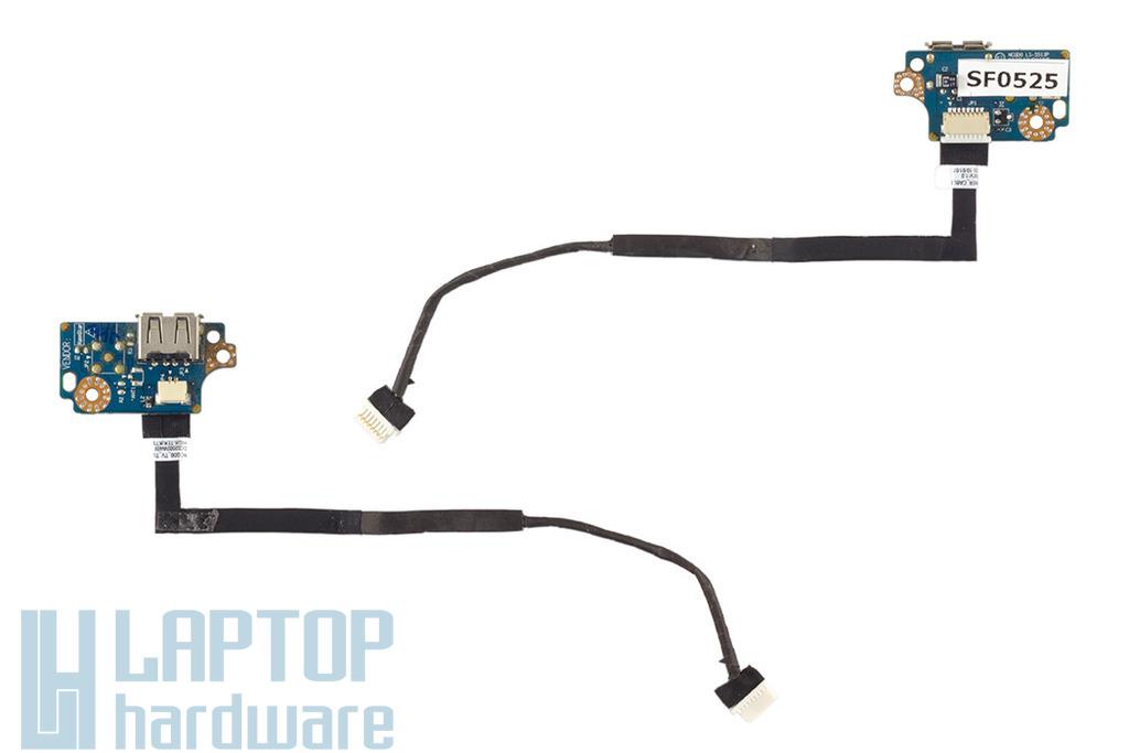 Acer Aspire 5942, 5942G használt USB panel kábellel (LS-5513P, NCQD0)
