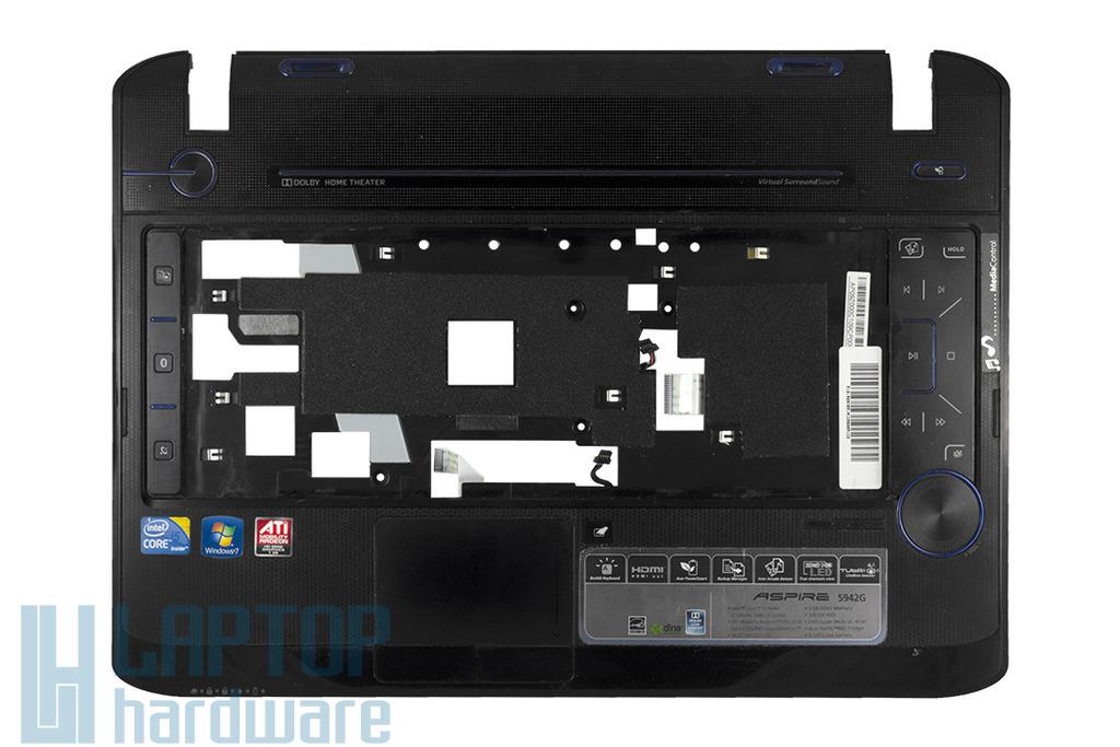 Acer Aspire 5942, 5942G laptophoz használt felső fedél B kategóriás touch paddal, FA09Z000200