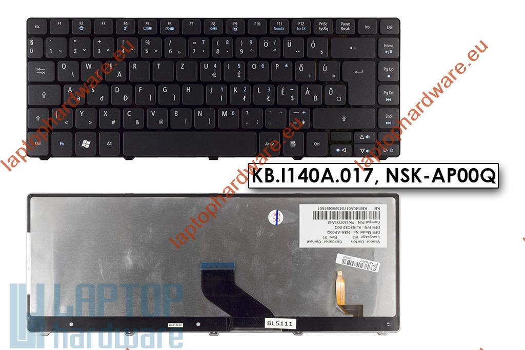 Acer Aspire 5942G használt magyar világítós billentyűzet (KB.I140A.017)