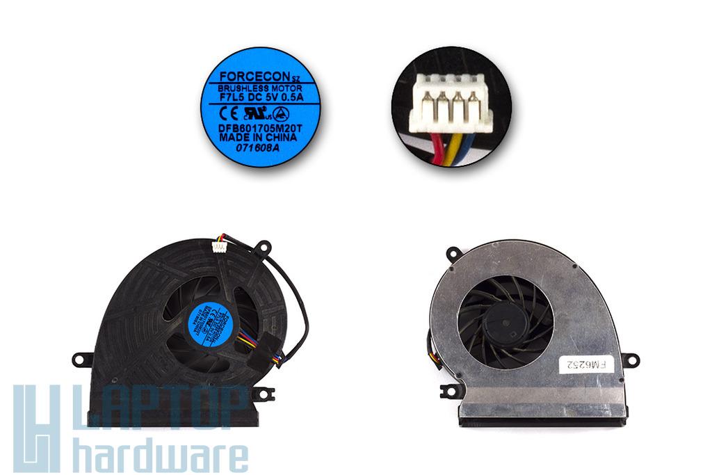 Acer Aspire 6920, 6920G, 6935, 6935G használt laptop hűtő ventilátor (DFB601705M20T)