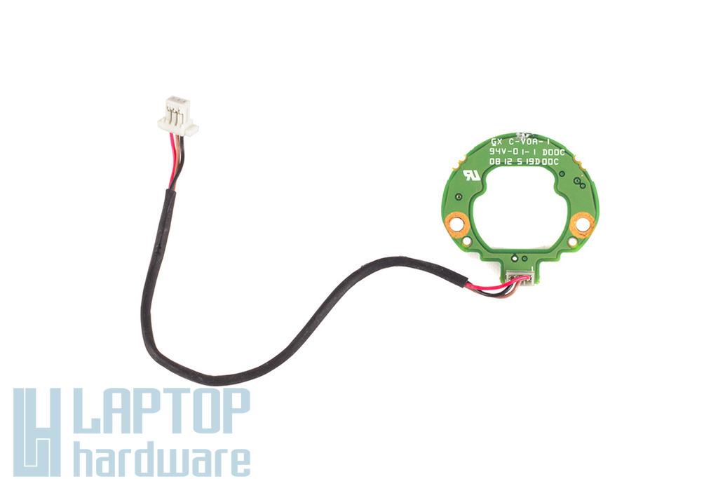 Acer Aspire 6920, 6935 laptophoz használt bekapcsoló gomb LED panel, 6050A2187901-A02
