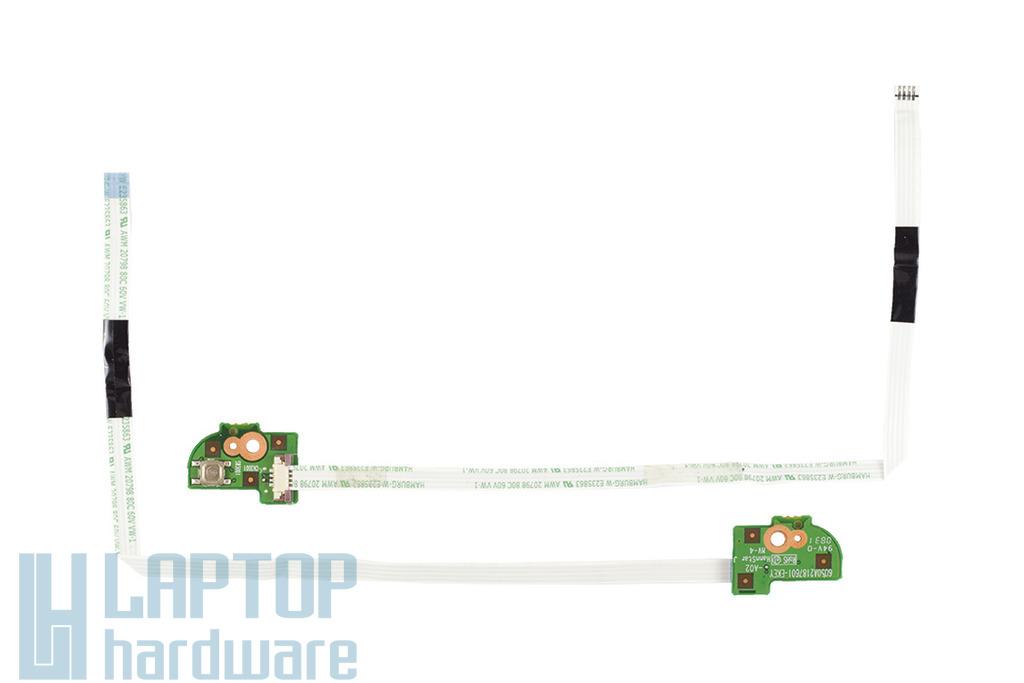 Acer Aspire 6920, 6935 laptophoz használt EKEY gomb panel, hotkey button board, 6050A2187601
