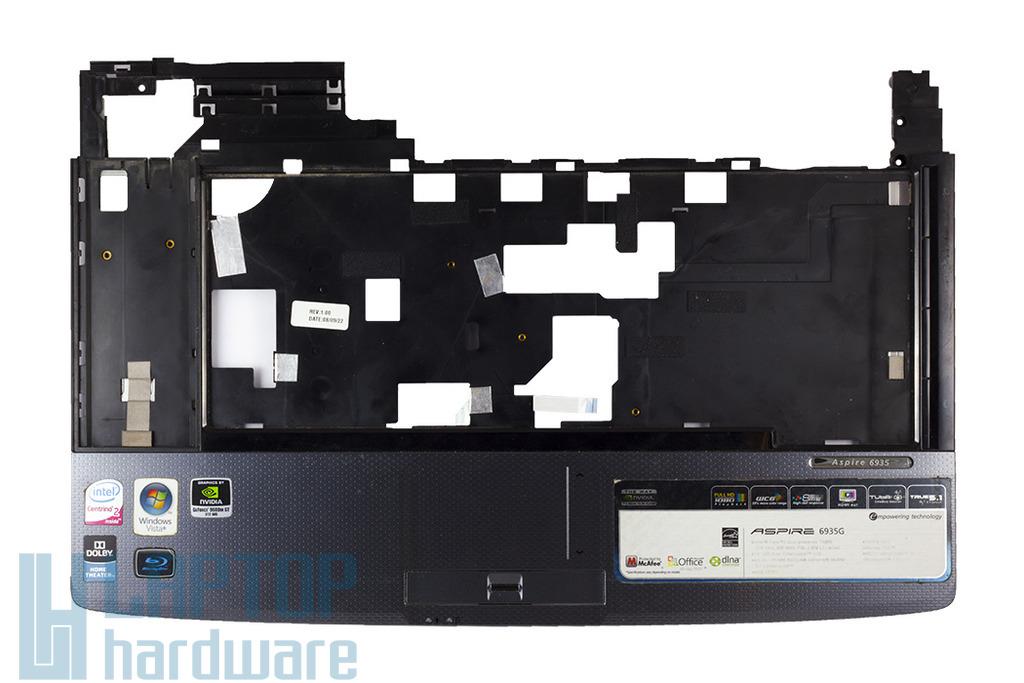 Acer Aspire 6920, 6935 laptophoz használt felső fedél touchpaddel, Top case, palmrest, touchpad, 6051B0287601-2