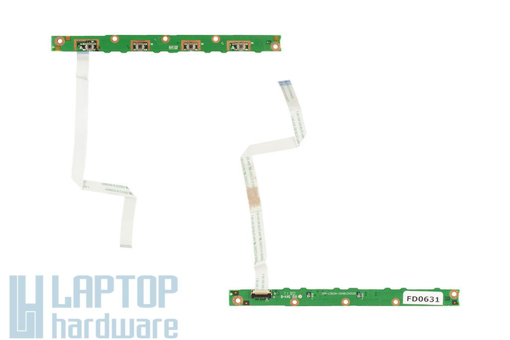 Acer Aspire 6920, 6935 laptophoz használt funkció gomb panel, hotkey button board, 6050A2189401