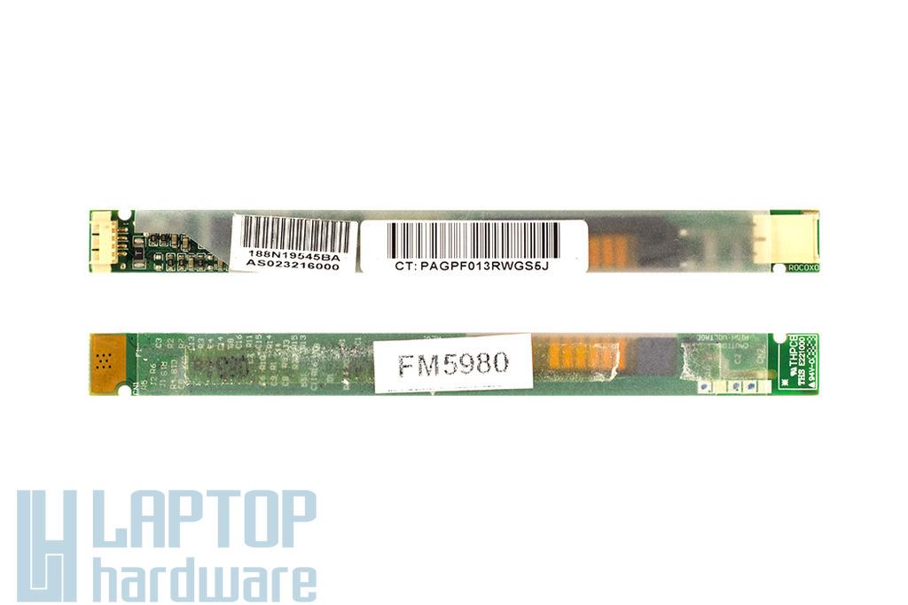 Acer Aspire 6930, HP Pavilion DV5, Toshiba  Sattelite M300 használt LCD Inverter (AS023216000)