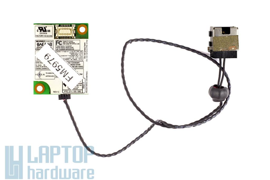 Acer Aspire 4230, 5740, 8735 laptophoz használt Conexant RD02-D330 modem kártya kábellel