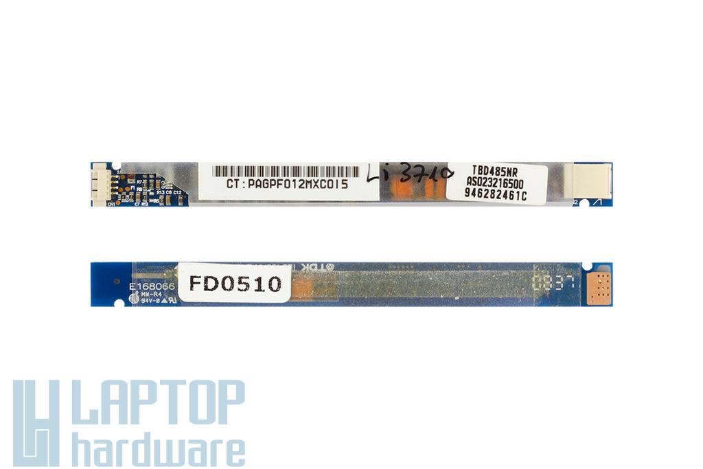 Acer Aspire 6930z, HP Pavilion DV5, DV5Z laptophoz használt LCD inverter, TBD485NR