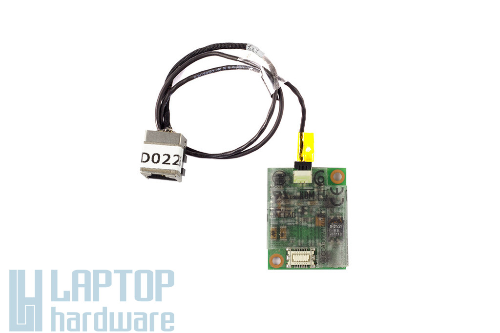 Acer Aspire 7740 laptophoz használt Modem kártya kábellel, modem with cable, 50.4FX06.201