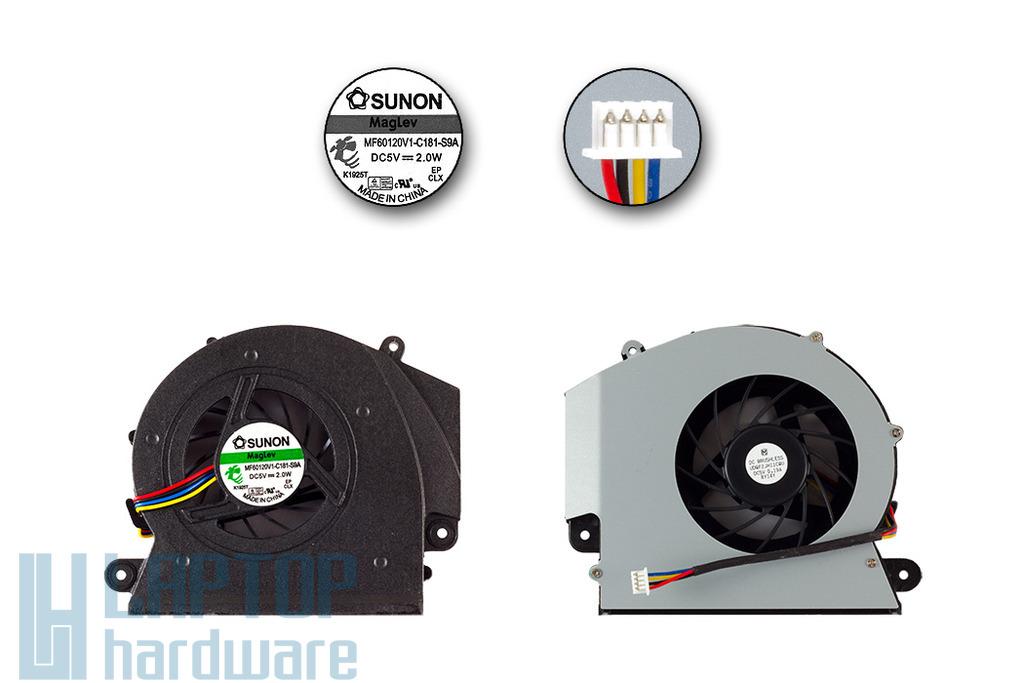Acer Aspire 8920, 8930 gyári új laptop hűtő ventilátor (MF60120V1-C181-S9A)