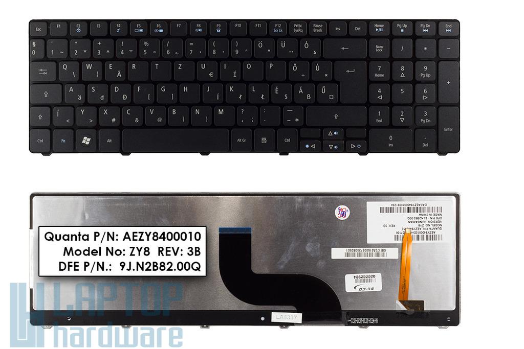Acer Aspire 8935G, 8942G gyári új magyar háttérvilágításos laptop billentyűzet (AEZY8400010)