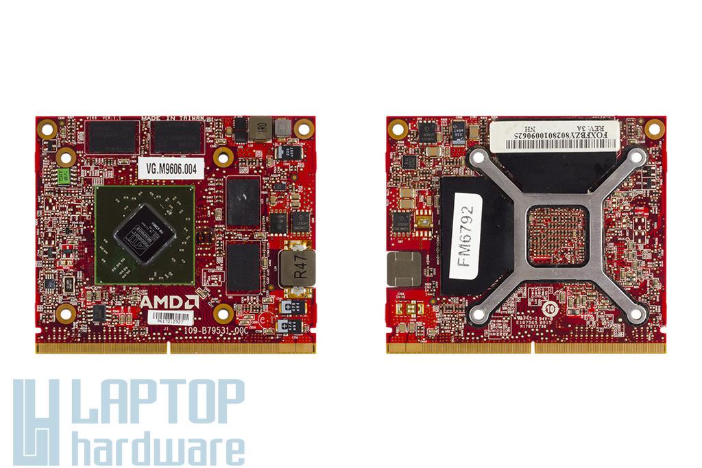 Acer Aspire 8935G Ati Radeon HD4670 VGA kártya, 1GB DDR3 800MHz MXM3, VG.M9606.004