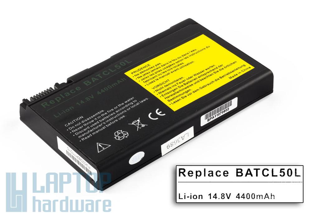 BATCL50L helyettesítő új 8 cellás laptop akku/akkumulátor