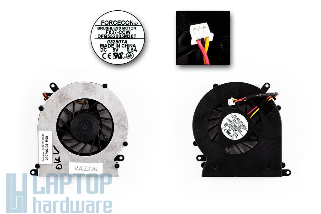 Acer Aspire 9500 használt laptop hűtő ventilátor (DFB552005M30T)