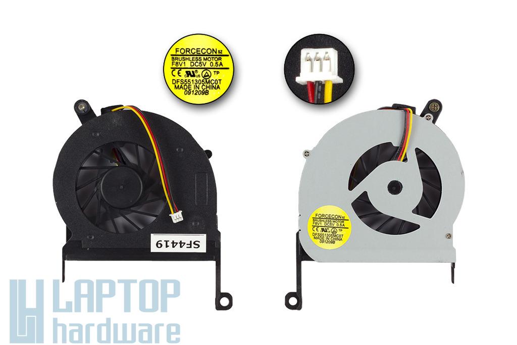 Acer Aspire E1-431, E1-471G, V3-471G gyári új laptop hűtő ventilátor (F8V1, FBAH)
