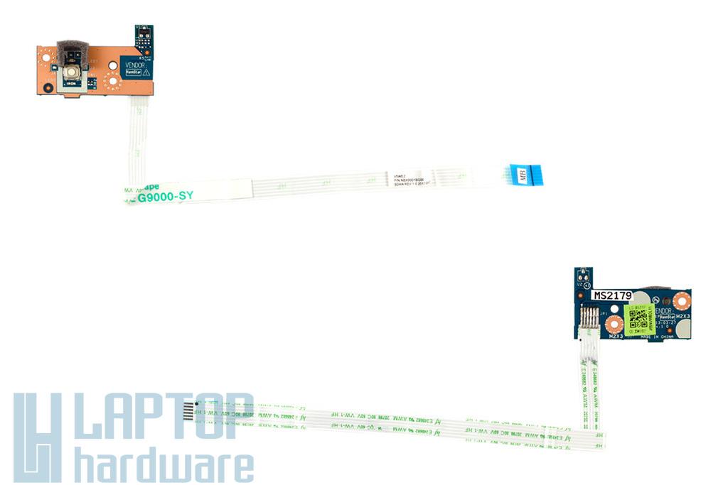 Acer Aspire E1-510, E1-570, V5-561 gyári új laptop bekapcsoló panel (55.M8EN2.004)