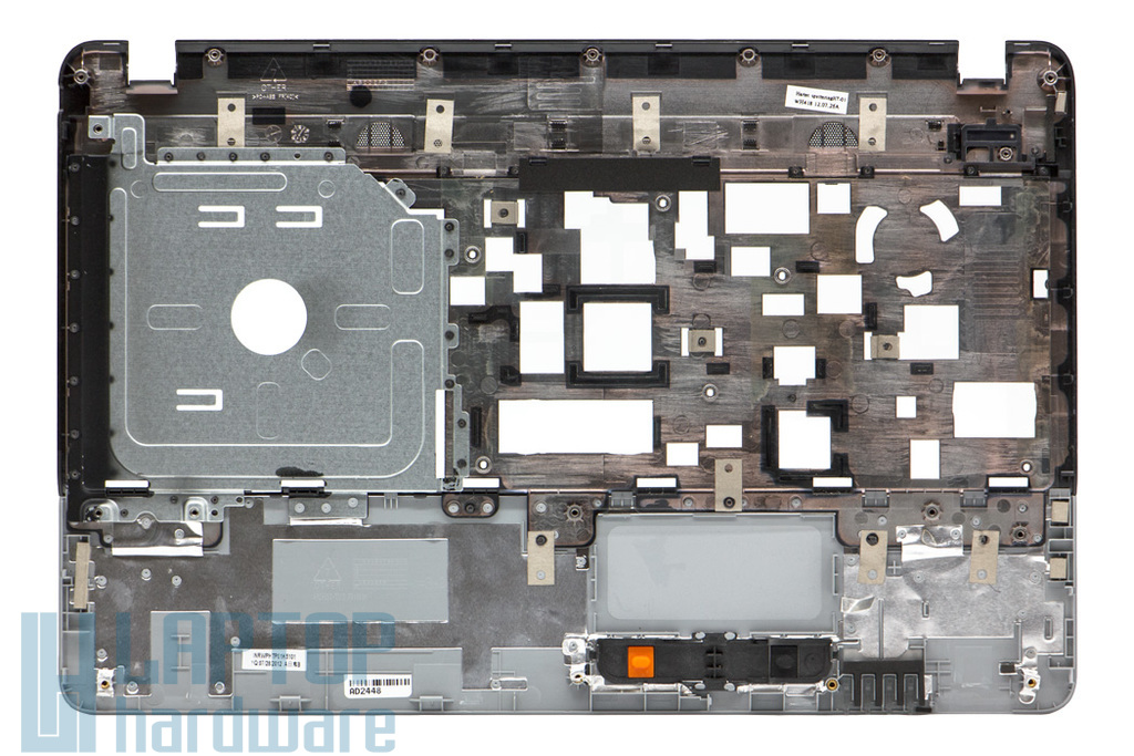 Acer Aspire E1-521, E1-531, E1-571 gyári új szürke-fekete felső fedél (60.M09N2.001)