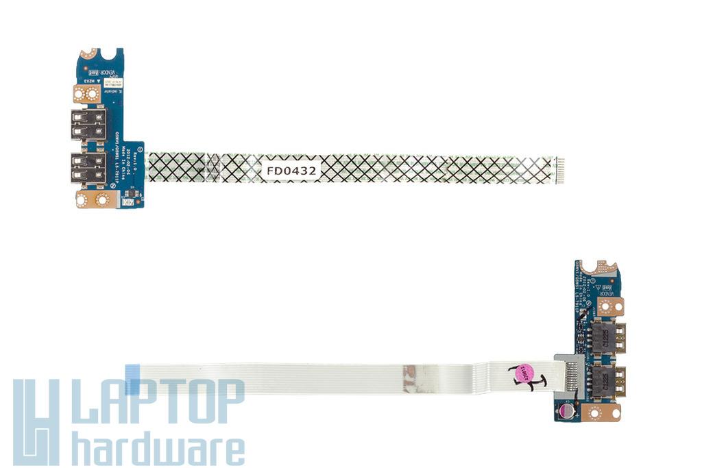 Acer Aspire E1-521 laptophoz gyári új USB panel (LS-7911P)