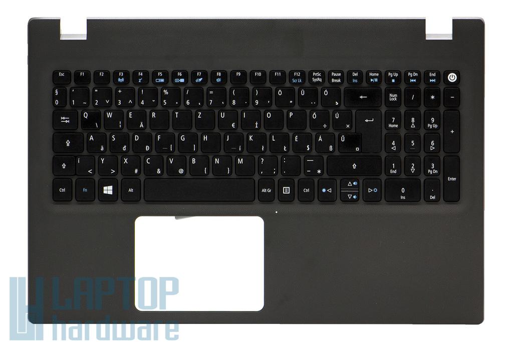 Acer Aspire E5-522G, E5-573, E5-573G gyári új magyar szürke laptop billentyűzet modul (6B.MVRN7.013)