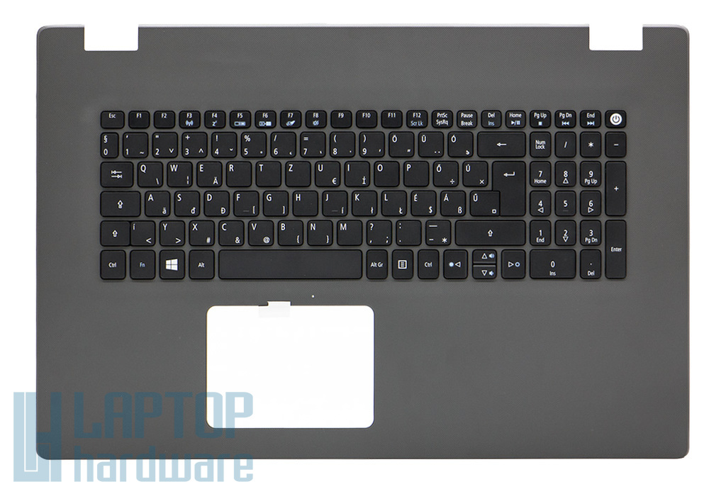 Acer Aspire E5-772G gyári új magyar szürke laptop billentyűzet modul (6B.MV9N1.014)