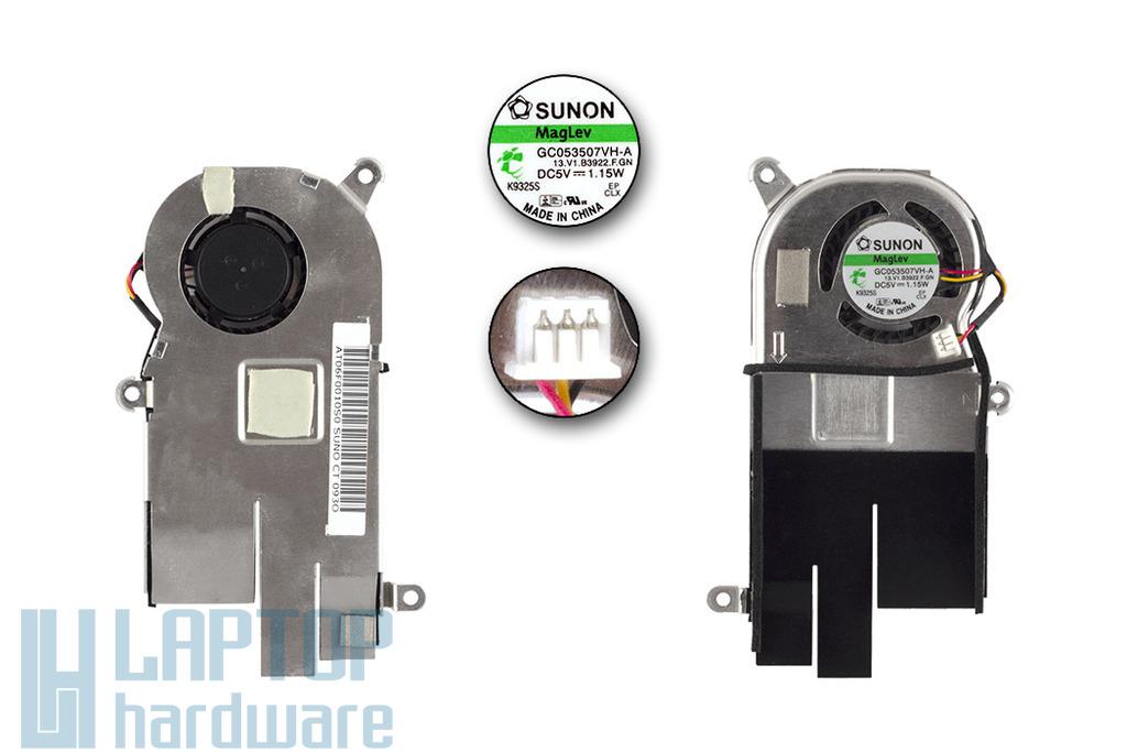 Acer Aspire One D150 használt hűtő ventilátor egység, AT06F0010S0