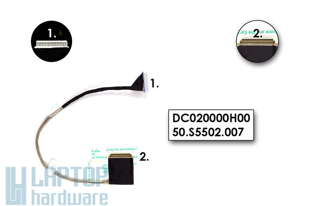 Acer Aspire One D150 laptophoz Gyári Új kijelző kábel
