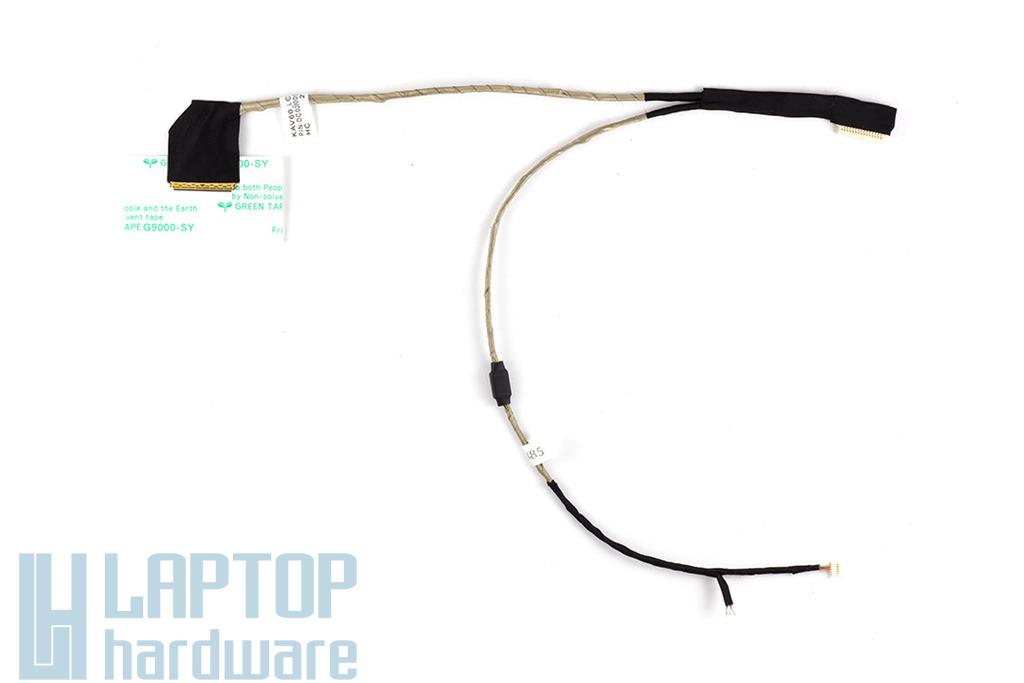 Acer Aspire One D250, KAV60 laptophoz gyári új kijelző kábel, kis webkamera csatlakozós, mikrofon nélkül