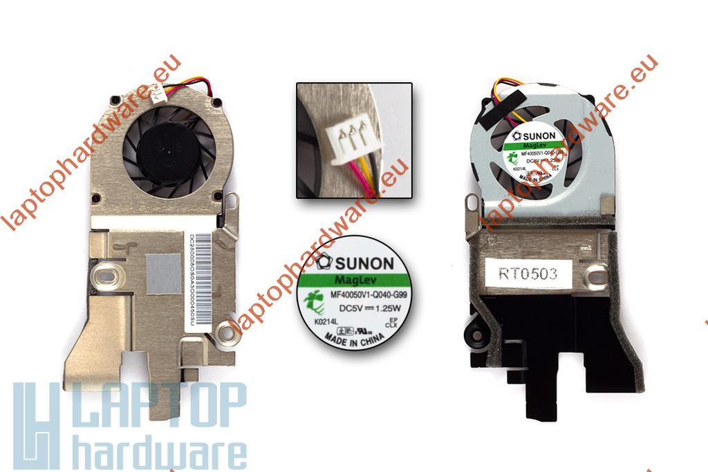 Acer Aspire One D255, D260, PAV70 használt laptop hűtő ventilátor (MF40050V1-Q040-G99)