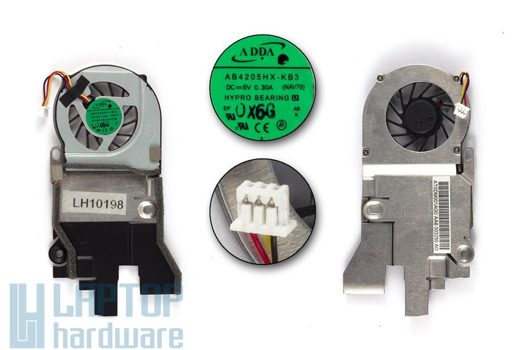 Acer Aspire One D260, NAV50, PAV70 használt laptop hűtő ventilátor (AB4205HX-KB3)
