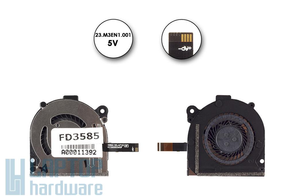 Acer Aspire S7, S7-391 40mm*40mm hűtő ventilátor, 23.M3EN1.001