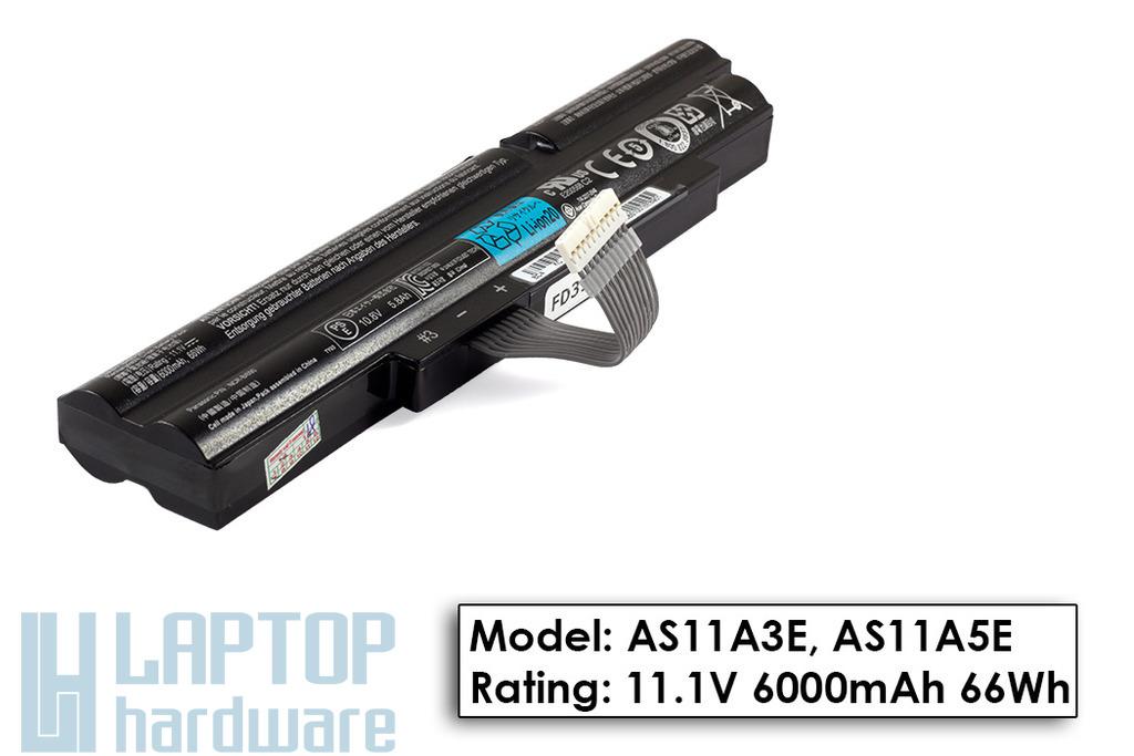 Acer Aspire TimelineX 3830TG, 4830T, 5830T Gyári új laptop akku/akkumulátor  AS11A3E, AS11A5E, BT.00603.126