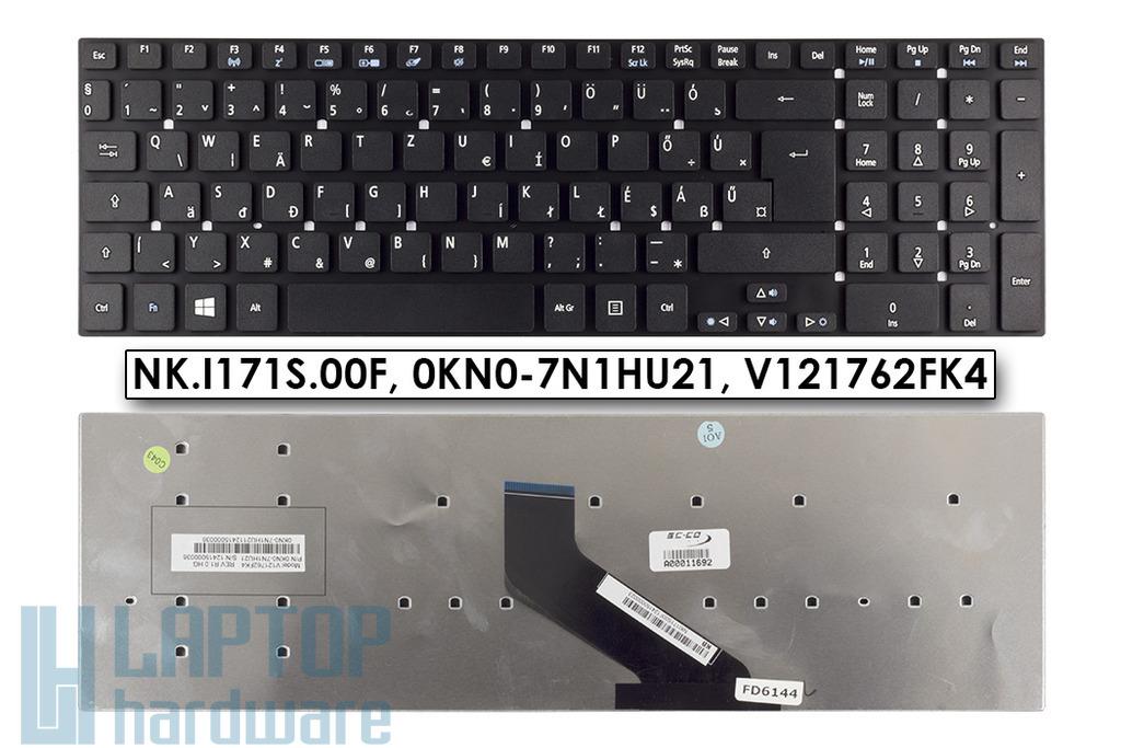 Acer Aspire V3-571, V3-731, V3-771 gyári új magyar laptop billentyűzet (Win8) (NK.I171S.00F, NK.I1713.05R, KB.I170A.395)