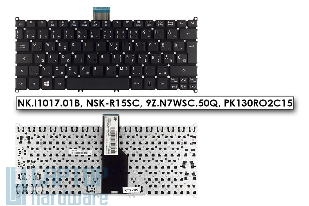 Acer Aspire V3, V5, One 725, 756 gyári új magyar fekete laptop billentyűzet (NK.I1017.01B, NK.I1017.026)