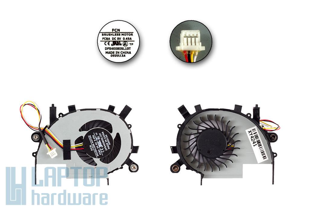 Acer Aspire V5-472, V5-572G, V7-582PG laptophoz gyári új GPU hűtő ventilátor (DFS400805L10T)