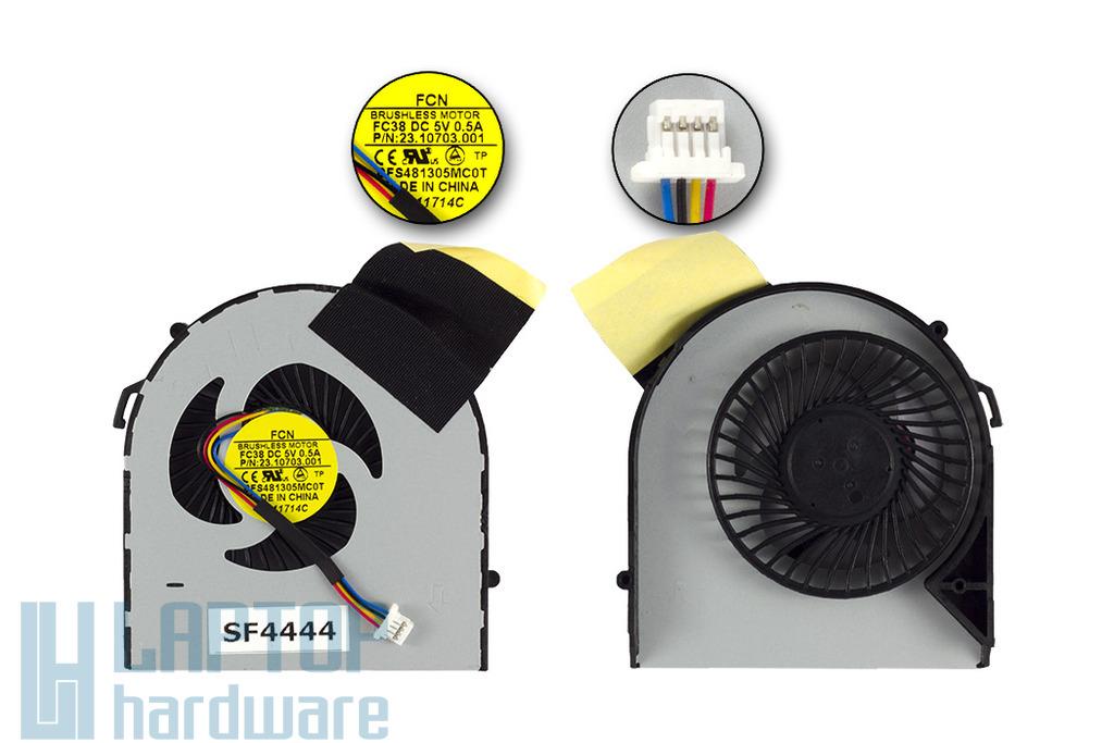 Acer Aspire V5-531, V5-471, V5-571 gyári új laptop hűtő ventilátor (DFS481305MC0T)