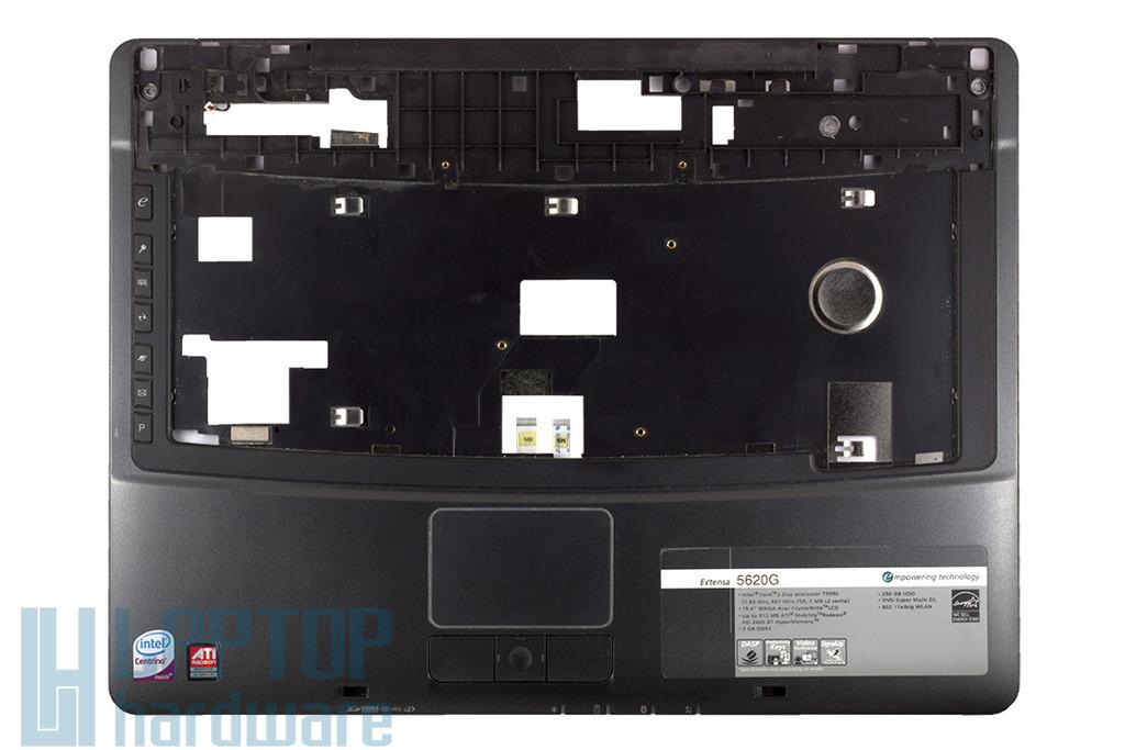 Acer Extensa 5220, 5620 használt felső fedél, top case, palmrest, 60.40T316.005