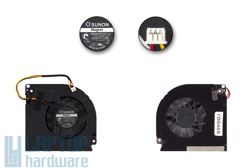 Acer Extensa 5220, 5620 használt hűtő ventilátor, GB0507PGV1-A