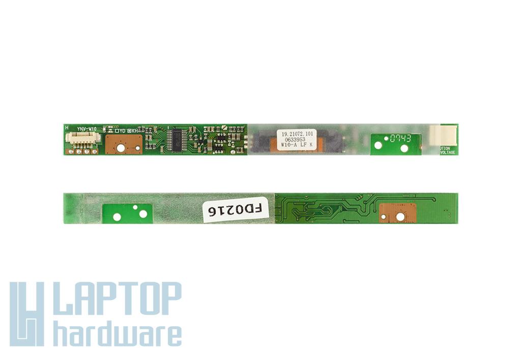 Acer Extensa 5220, 5620 használt LCD Inverter, 19.21072.101