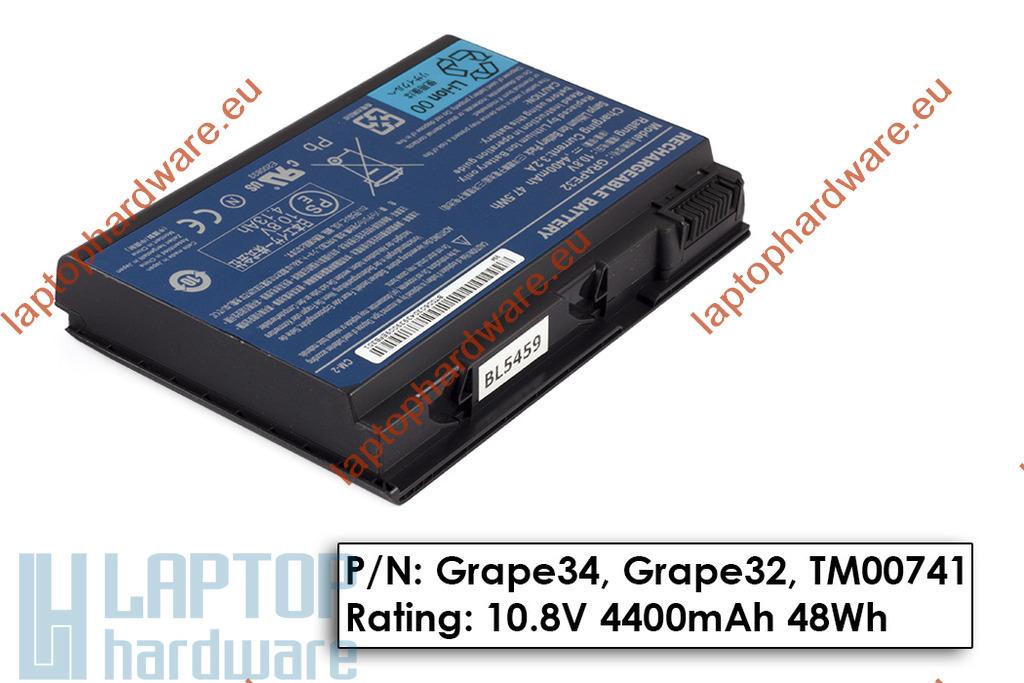 Acer Extensa 5220, 5620, Travelmate 5210 használt 50%-os akkumulátor, GRAPE32
