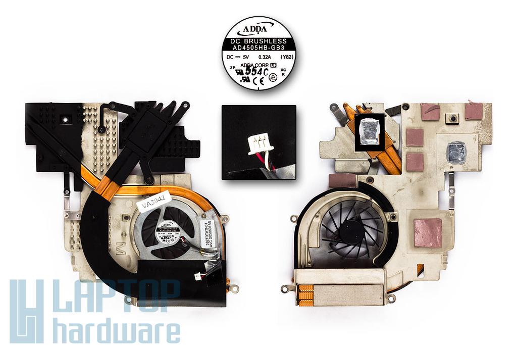 Acer Ferrari 4000 sorozat használt laptop hűtő ventilátor (3BZF3TATN01)