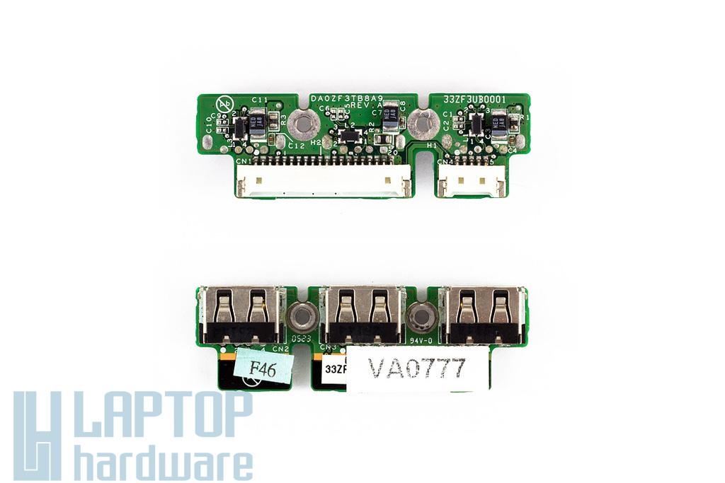 Acer Ferrari 4000 USB panel használt DA0ZF3TB8A9