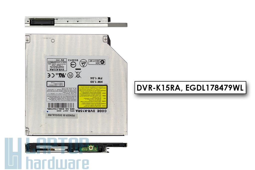 Acer használt IDE (PATA) laptop DVD-író (DVR-K15RA)