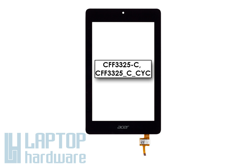 Érintő panel, touchscreen (95x153mm) Acer Iconia One 7 (B1-730) tablethez (CFF3325-C)