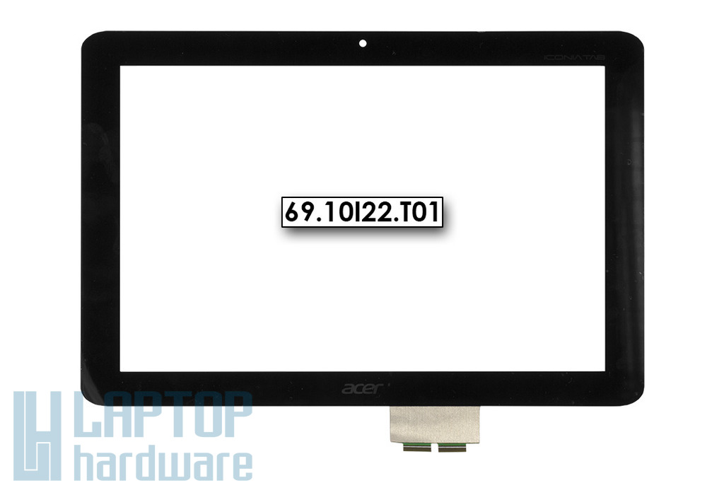 "Érintő panel, touchscreen Acer Iconia Tab A210, A211 10,1"" tablethez (69.10I22.T01)"